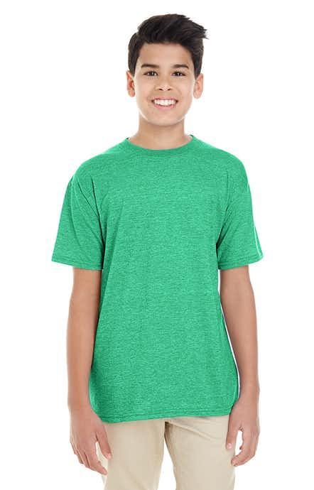 Gildan G645B Hthr Irish Green