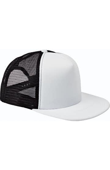 Big Accessories BX030 White/Black
