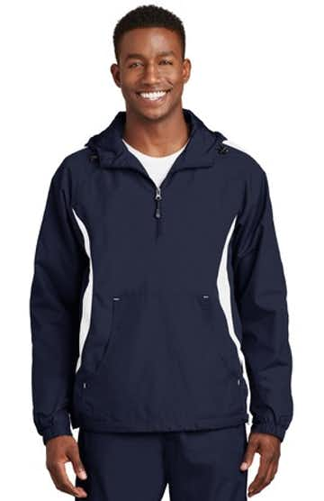 Sport-Tek JST63 True Navy / White