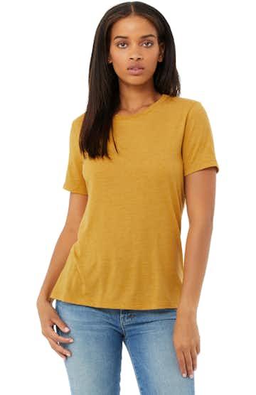 Bella + Canvas 6413 Mustard Triblend