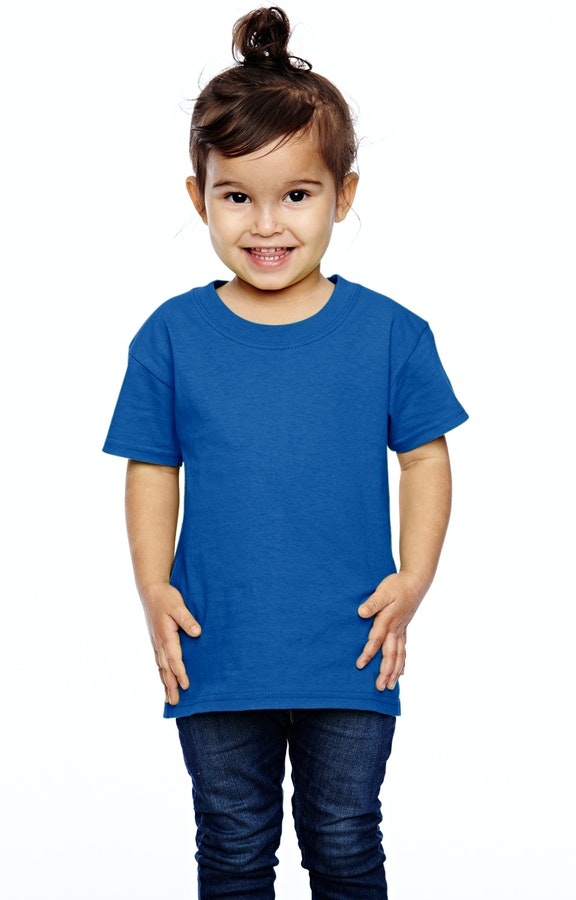 e6c159bc Fruit of the Loom T3930 Toddler 5 oz. HD Cotton™ T-Shirt - JiffyShirts.com