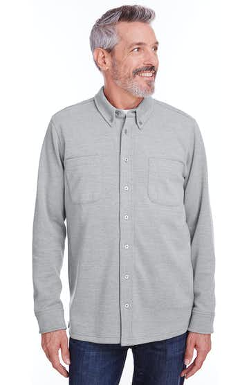 Harriton M708 GREY HEATHER