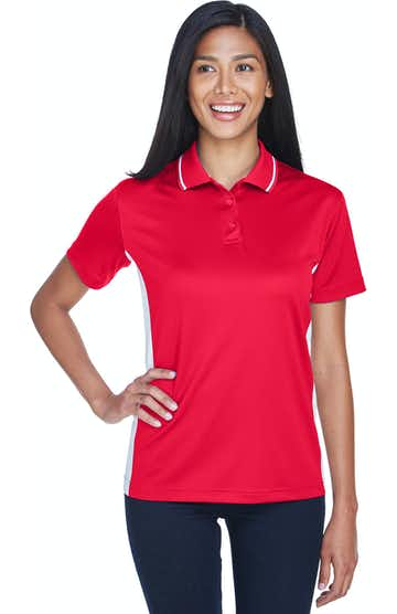 UltraClub 8406L Red/ White