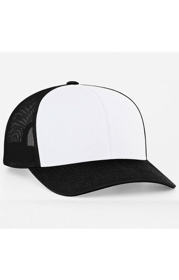 Pacific Headwear 0104PH White/Black