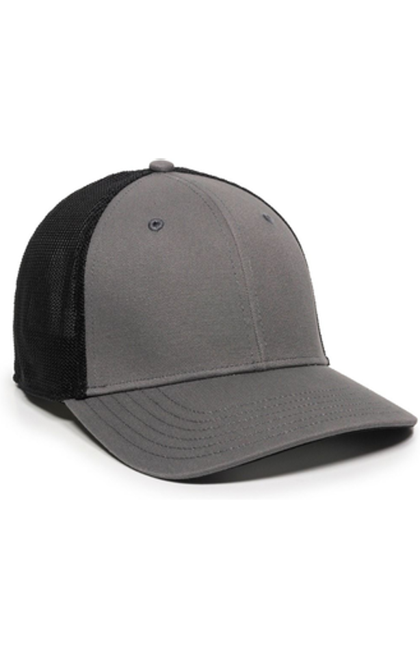 Outdoor Cap RGR-360M Gray / Black