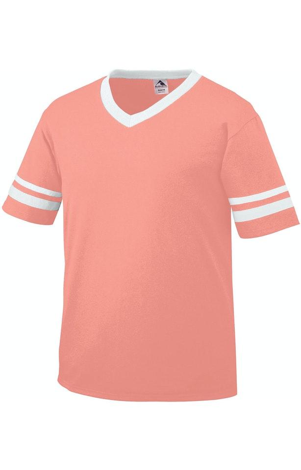 Augusta Sportswear 360 Coral/ White