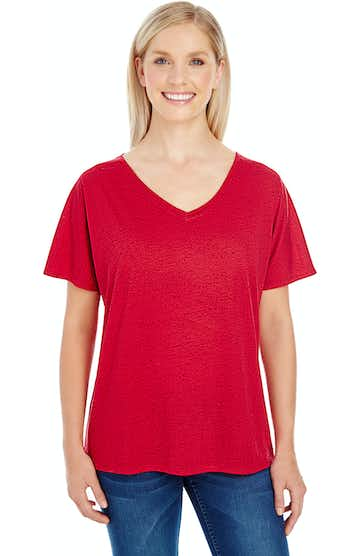 Threadfast Apparel 203FV Red Fleck