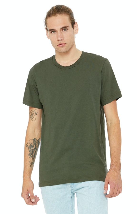 Bella + Canvas 3001C Military Green