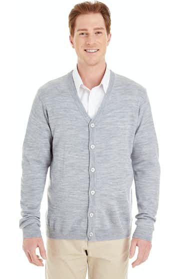 Harriton M425 Grey Heather