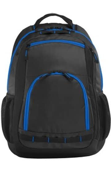 Port Authority BG207 Dg / Black / Shk Blue