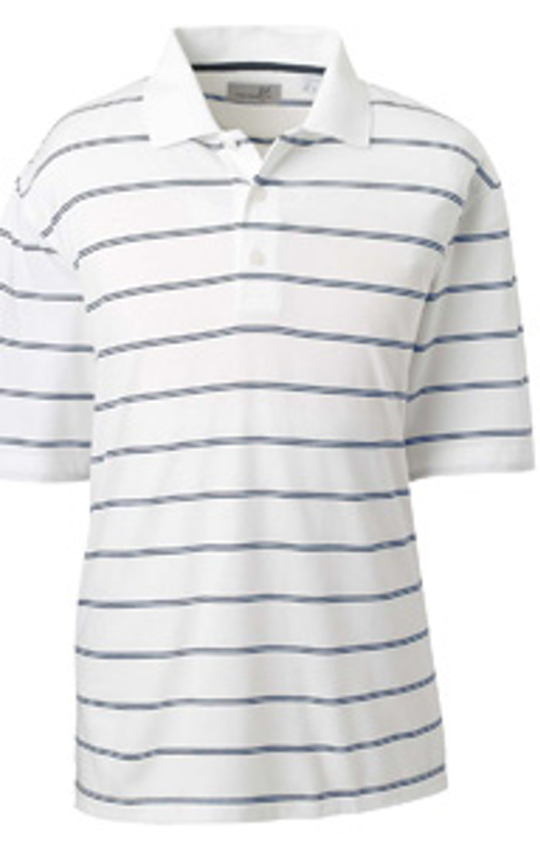 1778265e Ashworth 2038C Men's High Twist Cotton Tech Stripe Polo ...
