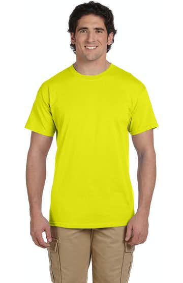 Hanes 5170 SAFETY GREEN