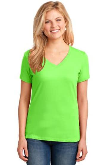Port & Company LPC54V Neon Green