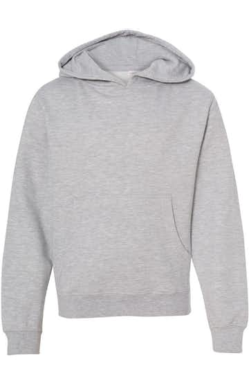 Independent Trading SS4001Y Gray Heather
