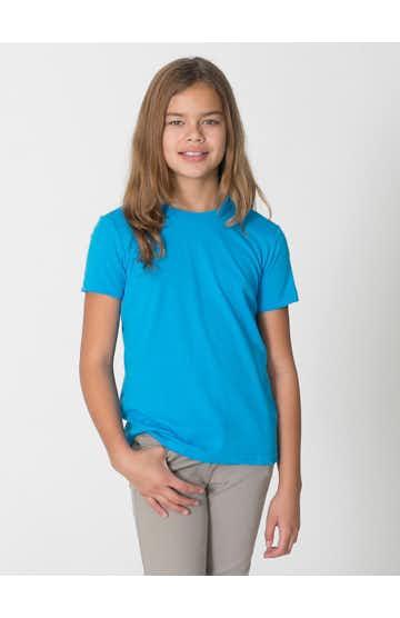 American Apparel BB201W Neon Hthr Blue