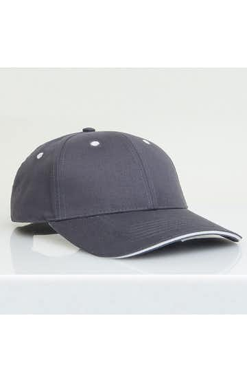 Pacific Headwear 0121PH Graphite/White