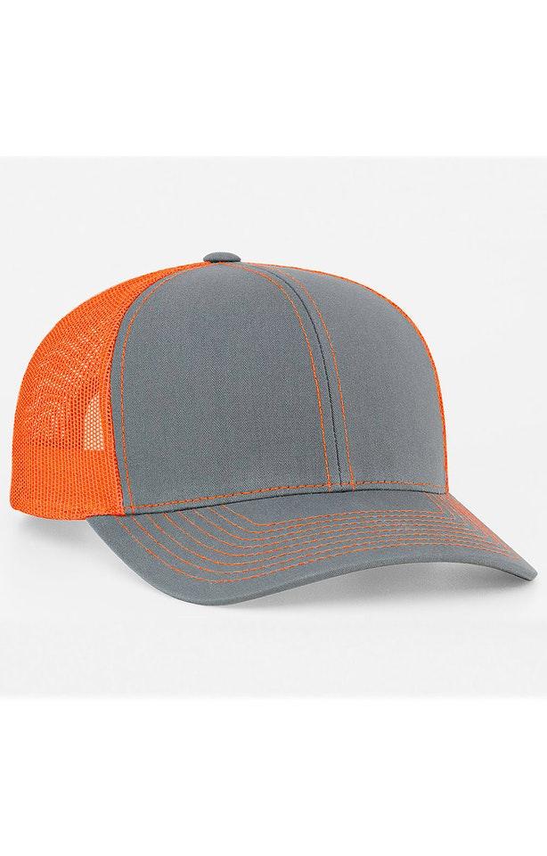 Pacific Headwear 0104PH Graphite/Neon Orange