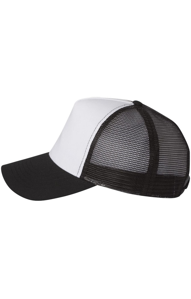 Mega Cap 6886 White / Black