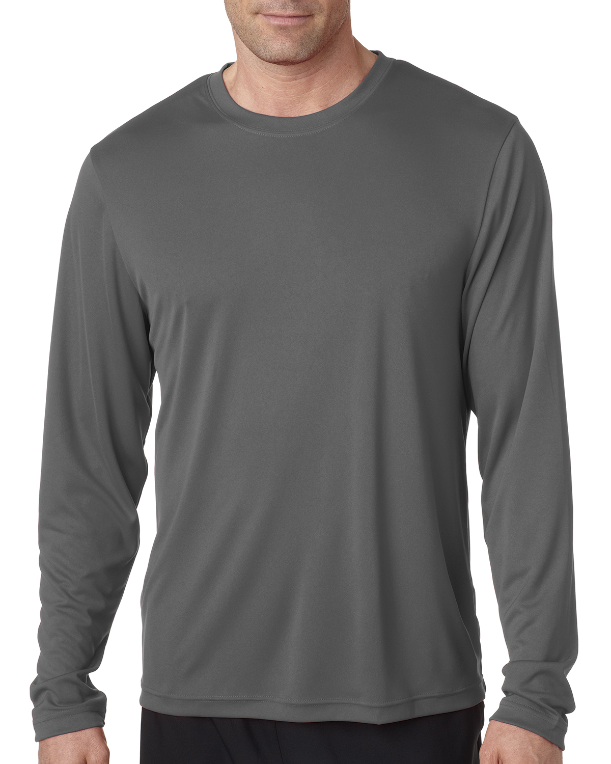 a711a4016eb0 Hanes 482L Adult Cool DRI® with FreshIQ Long-Sleeve Performance T ...