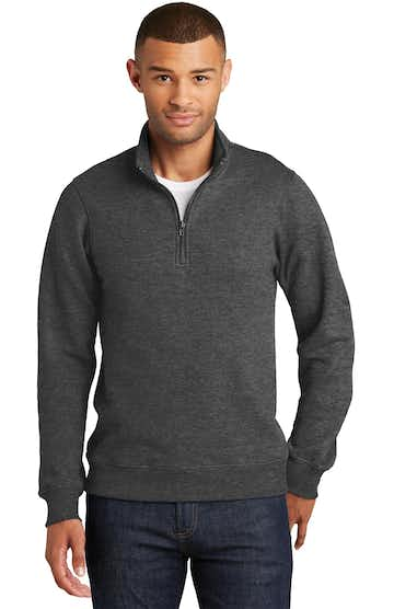 Port & Company PC850Q Dark Heather Gray