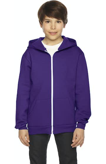 American Apparel F297W Purple