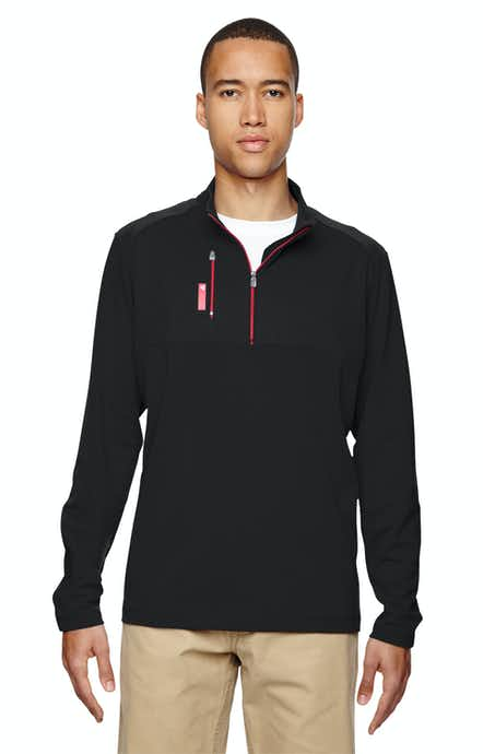 Adidas A195 Black/Bold Red