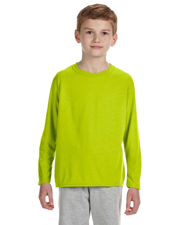 Gildan G424B High Viz Safety Green