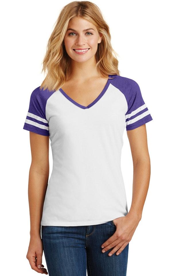 District DM476 White / Heather Purple