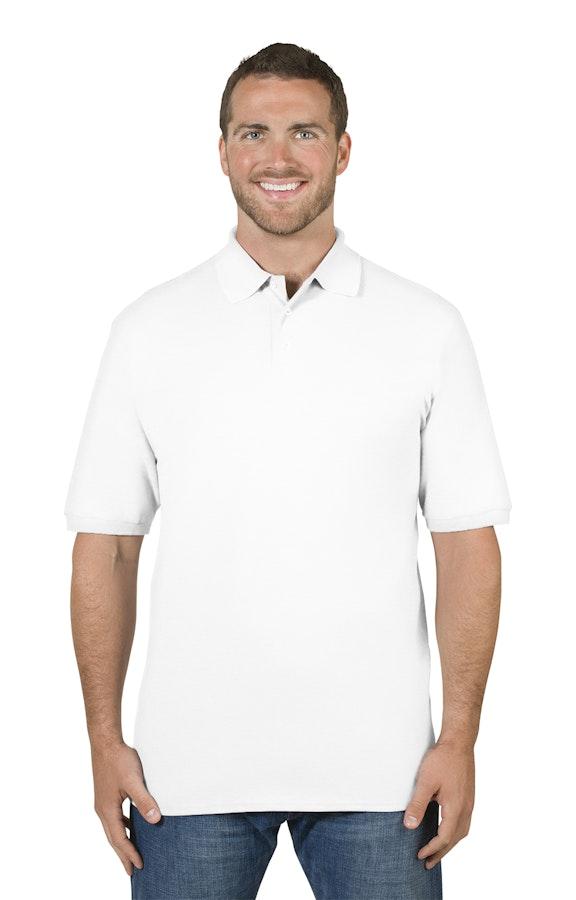 0e082679 Jerzees 443MR Adult 6.5 oz. Premium 100% Ringspun Cotton Piqué Polo -  JiffyShirts.com