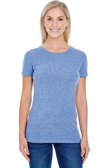 Threadfast Apparel 202A Navy Triblend