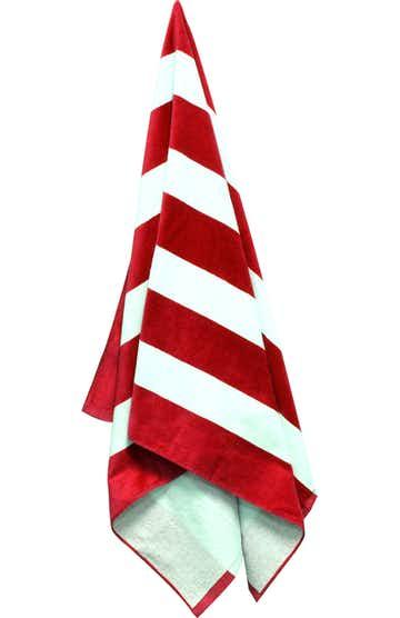 Carmel Towel Company C3060 Red Cabana