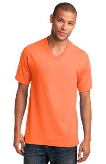 Port & Company PC54V Neon Orange