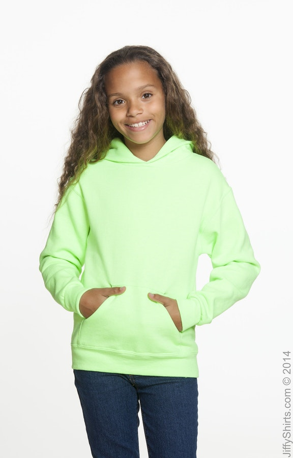 Jerzees 996Y Neon Green