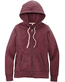 District DT8103 Maroon Heather