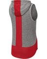 Sport-Tek LST410 True Red / Dark Gray Heather