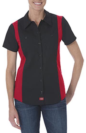 Dickies FS524 Black/ Red