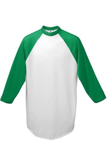 Augusta Sportswear 4421 White/ Kelly