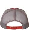 Richardson 112P Red Digital Camo/ Charcoal