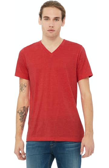 Bella + Canvas 3005 Heather Red