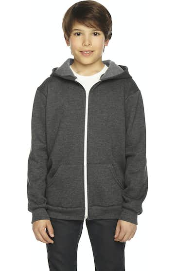 American Apparel F297W Dk Heather Grey