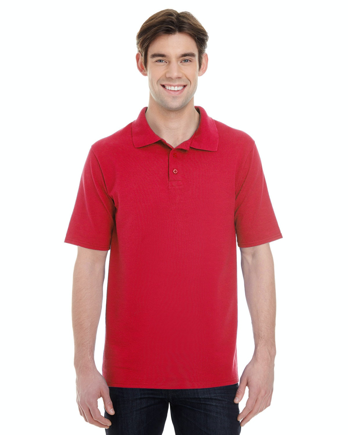 Hanes 055P Red