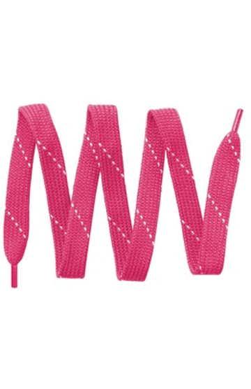 Sport-Tek LACE Neon Pink / White