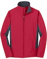 Port Authority J318 Rich Red / Bat Gray
