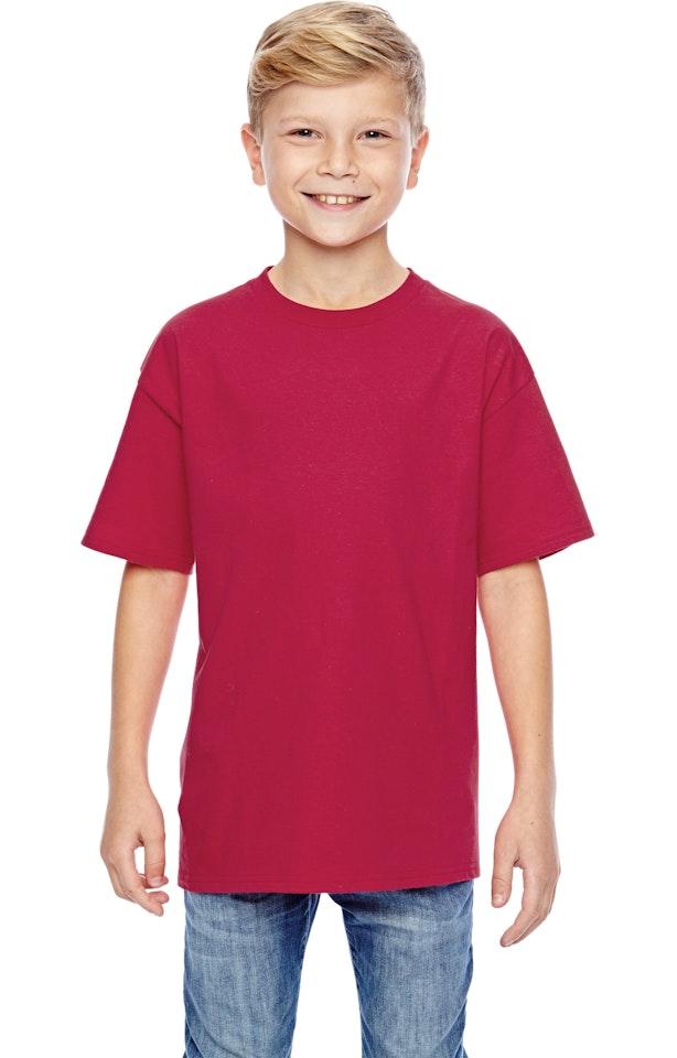 Hanes 498Y Deep Red