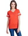 LAT 3537 Vn Orange/ Bd Wh