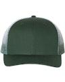 Richardson 112PM Dark Green / Dark Green To White Fade