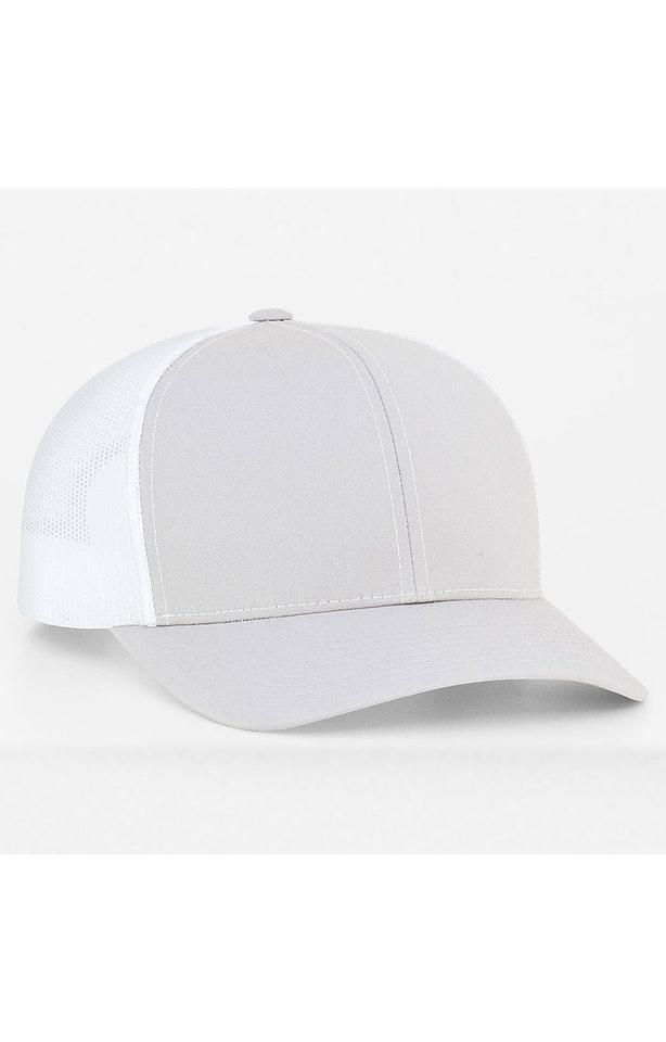 Pacific Headwear 0104PH Silver/White