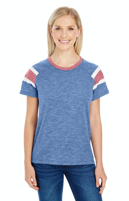 Augusta Sportswear 3011 Royal/ Red/ Wht