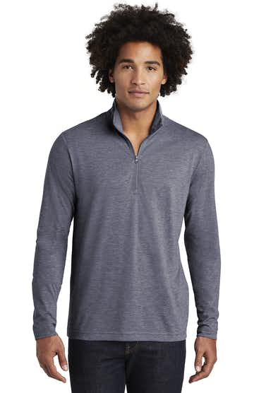 Sport-Tek ST407 True Navy Heather