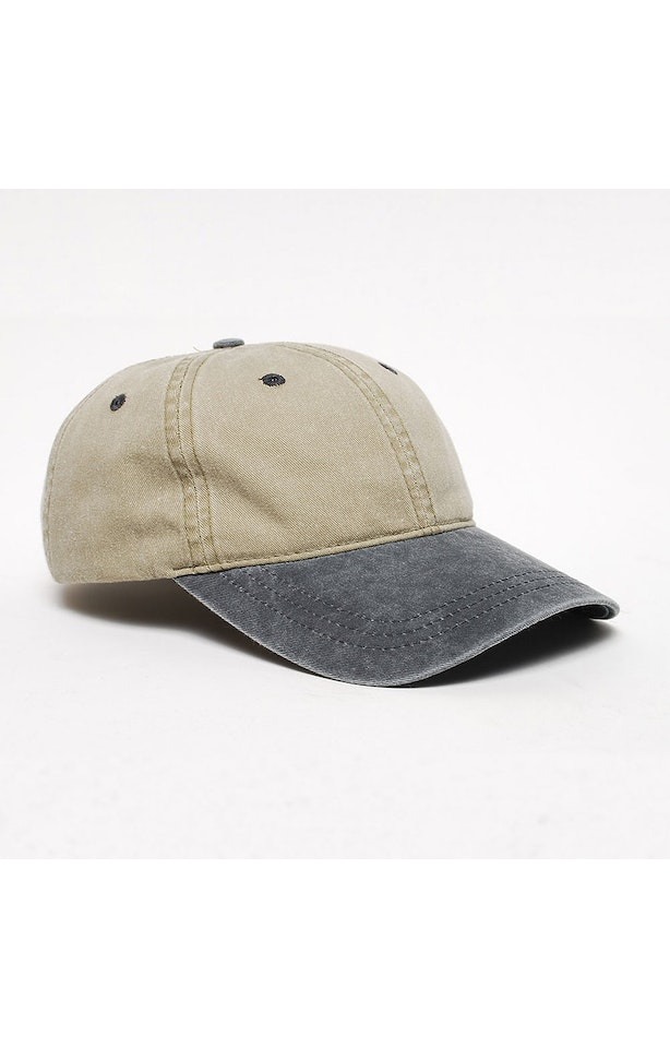 Pacific Headwear 0300PH Sand/Charcoal